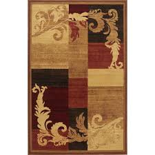 this review is from catalina brown red 3 ft x 5 ft indoor area rug