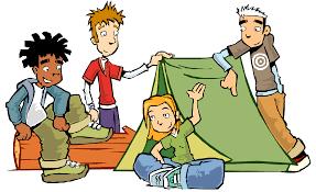 Resultado de imagen de acampada gif