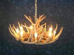 faux antler chandelier kit