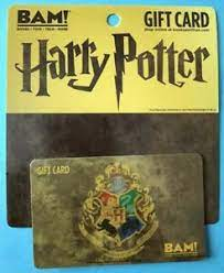 Bookstore chain with over 200 hundred stores and over five and a half thousand employees. Books A Million Harry Potter Crest Gift Card Bam Ebay