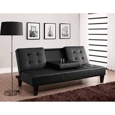 Julia Cupholder Convertible Futon Multiple Colors Walmart