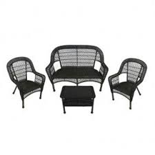 Atlantic Liberty 4Person Resin Wicker Patio Dining Set With Glass White Resin Wicker Outdoor Furniture