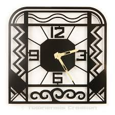 wall clock art deco charleston design jacques lahitte tolonensis creation full 900x900  on wall clock art design with wall clock art deco charleston wall clocks delorentis