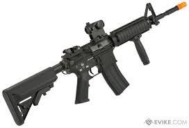 Classic Army M4 RIS Airsoft AEG Rifle - Black | Evike.com