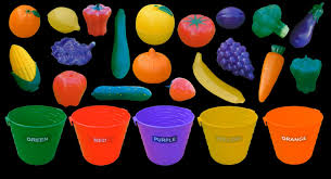 Small Picture Fruit and Vegetable Colors Color Sorting The Kids Picture
