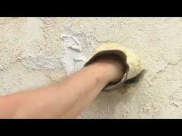 to repair s and holes in stucco