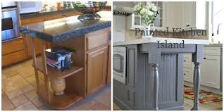 painted kitchen islandsPainted Kitchen Island