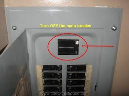 gfci outlet installation how to in 4 easy steps checkthishouse how to turn power back on in house at Breaker Box Fuse Shut Off