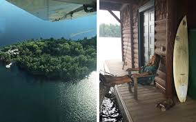 Cindy Crawford Home Inside Cindy Crawfords Gorgeous Canadian Lake House Travel