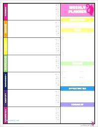 Weekly Meeting Calendar Template Weekly Meeting Calendar Template Excel Schedule Format Timeline
