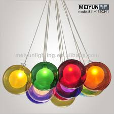 colored glass lighting. Groups Of Sphere Ball Multi Colored Pendant Lights Shades Glass Material Transparent Pendulum Hanging Lighting E