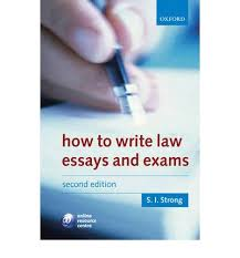 how to write law essays and exams s i strong