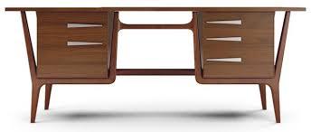 mid century modern office desk. midcentury modern furniture u0027manutaileru0027 joybird mid century office desk m