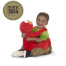 Amazon Playskool Sesame Street Big Hugs Elmo Plush Toys Games