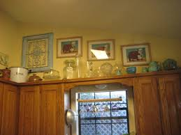 decorating above kitchen cabinets. Kitchen Decoration:What To Do With Space Above Cabinets Martha Stewart Decorating