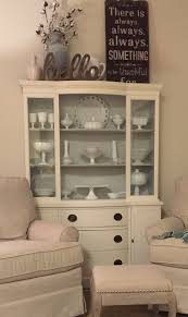 How To Decorate The Top Of China Cabinet Archaicawful Photo Design Redo Ben  Moore Chalk