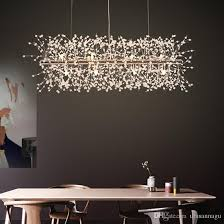led modern crystal pendant lights fixture european romantic flower dandelion hanging lamps ping mall hotel dining room indoor lighting pendant lamps