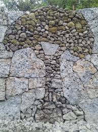 stone wall art decor