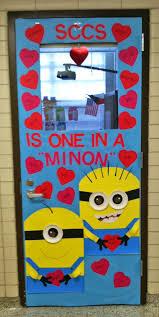 school classroom doors. One In A Minion Classroom Door - Featured 27 Valentine\u0027s Day Decorating Ideas School Doors I