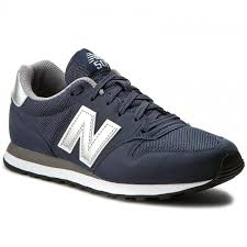 new balance shoes navy blue. sneakers new balance - gm500nay navy blue new balance shoes p