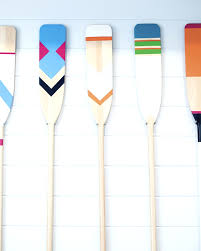 Boat Oar Coat Rack Oars Make A Large Statement Home Decor Pieces Available At 32