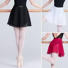 dance skirt wrap chiffon long lyrical ballet women dress ballet dance skirt adult tutu