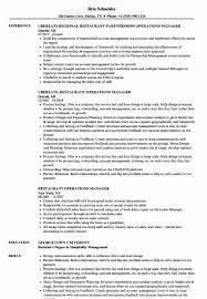 Resume Restaurant Manager Restaurant Manager Resume Examples Fresh Restaurant
