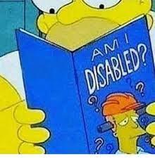 Am I disabled? - Posts   Facebook