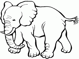 Animal dog printable alphabet s14def. Easy Animal Coloring Pages For Kids Coloring Home