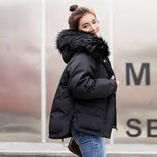 kuyomens new winter jacket women faux fur hooded parka coats female long sleeve thick warm snow
