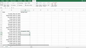 Litigation Timeline Template 3 Simple Effective Uses Of Excel For Litigation