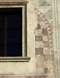 Putzfaschen Auf österreichischen Burgen Und Mittelalterlichen