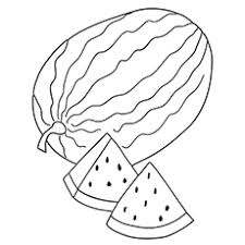 Small Picture Top 10 Watermelon Coloring Pages Your Toddler Will Love