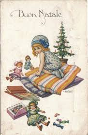 Buon Natale immagini Facebook 4129 | Vintage christmas cards, Greeting card  art, Vintage christmas