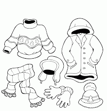 These princess coloring pages with long flowing gowns here is a small collection of princess coloring pages printable for your daughter. Winter Clothes Coloring Page Coloring Home
