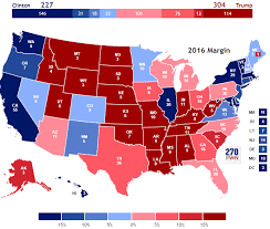 2016 Presidential Election Results Chart Presidential Election Of 2016