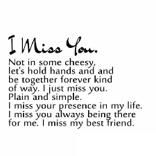 Missing Friends Quotes Beauteous 48 Poignant Quotes To Tell Someone €�I Miss You""