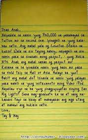 Letter About Valentine Day Tagalog