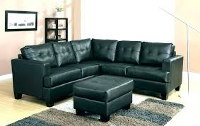 small black sofa l black sectional sofa leather futon bed couch outstanding home improvement cool l