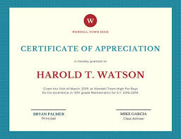 Sample Certificate Of Appreciation Stunning Customize 44 Appreciation Certificate Templates Online Canva