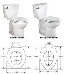 elongated toilet bowl dimensions. elongated toilet seat vs round designs bowl dimensions u