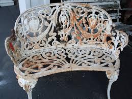 white wrought iron garden furniture. White Metal Garden Benches Ideas Wrought Iron Outdoor Model 43 Furniture A