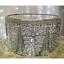 bling crystal cake stand crystal wedding cake stand with for incredible home chandelier cake stands plan