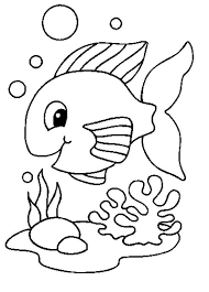 fish drawing for colouring. Interesting Drawing For Fish Drawing Colouring H