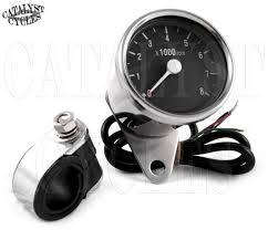 chrome tachometer for all dual fire ignitions motorcycle tach click thumbnails to enlarge