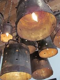 rustic farm lights