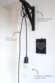 hanging lamp plug into wall amazing just hanging around wall light little for hanging lamp plug into wall