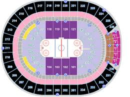 Breakdown Of The Rogers Place Seating Chart Edmonton Oilers