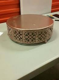rose gold cake stand south africa