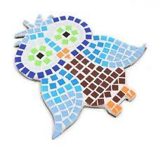 Craft Decor Tiles Hobbycraft Assorted Design Mosaic Coaster Kits Tiles Art Craft 64